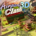 Choque de aeropuerto 3D