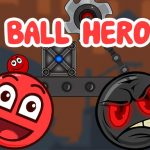 Ball Hero: Bola de rebote roja