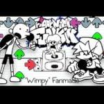 FNF: Diário de um Wimpy Kid (feito por fãs)