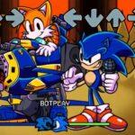 FNF: Sonic clasic și Sonic.EXE cântă prea lent