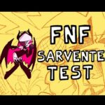 Тест FNF Сарвенте