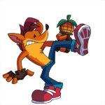 FNF vs Crash Bandicoot