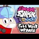 FNF vs Lucky Boy