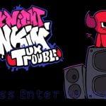 FNF vs Tux Trouble (Beastie)