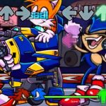 Friday Night Funkin: мод Sonic Skin