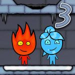 FireBoy und WaterGirl 3 Ice Temple