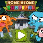 Gumball: Survie seule à la maison