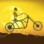 Sepeda Roda Halloween