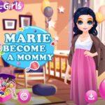 Marie bereitet sich darauf vor, Mama zu werden