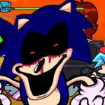 """FNF: Sonic.Exe y Majin Sonic canta """"Too Slow"""""""